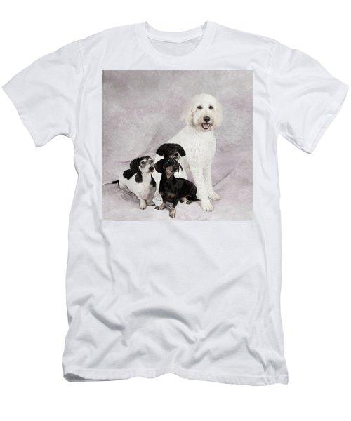 Fur Friends Men's T-Shirt (Slim Fit) by Erika Weber