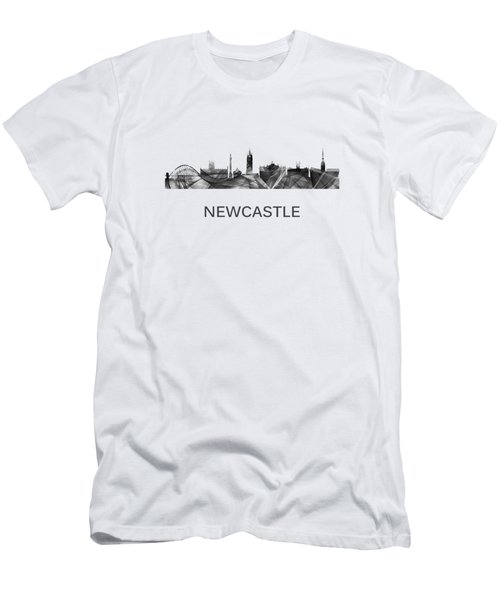 Newcastle England Skyline Men's T-Shirt (Athletic Fit)