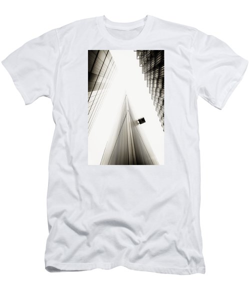Men's T-Shirt (Slim Fit) featuring the photograph Not The Shard by Lenny Carter