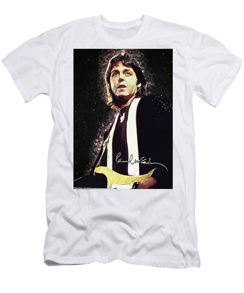 Paul Mccartney Men's T-Shirt (Athletic Fit)