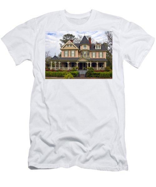 Peach Bainbridge Beauty Men's T-Shirt (Athletic Fit)