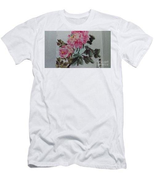 Peoney20161229_6 Men's T-Shirt (Athletic Fit)