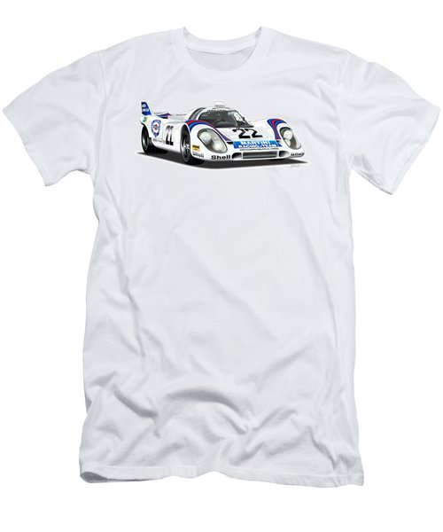 Porsche 917 Illustration Men's T-Shirt (Athletic Fit)