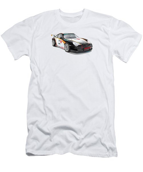 Porsche 996 Gt3 Cup Men's T-Shirt (Athletic Fit)