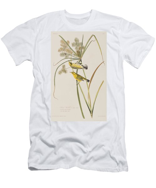Prairie Warbler Men's T-Shirt (Athletic Fit)