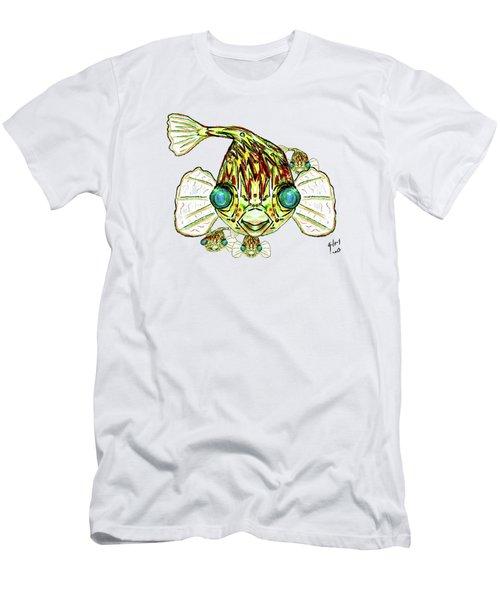 Puffer Fish Men's T-Shirt (Athletic Fit)