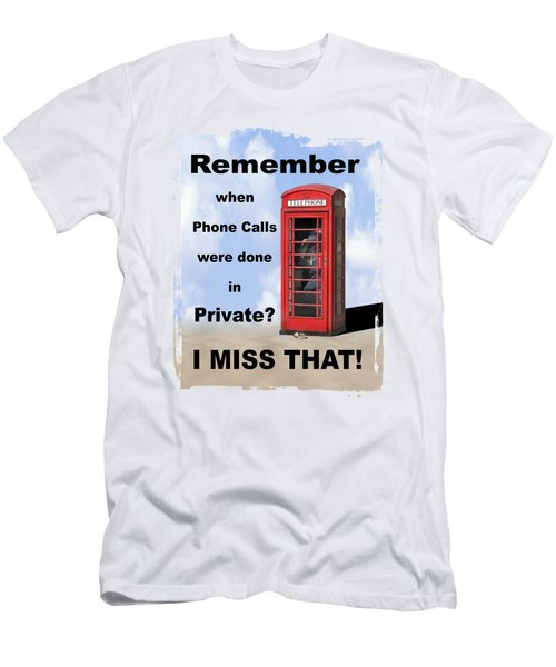 Remember When . . . Men's T-Shirt (Athletic Fit)