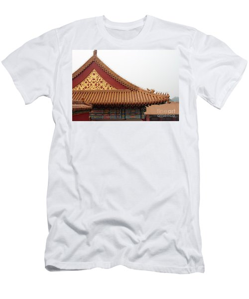 Roof Forbidden City Beijing China Men's T-Shirt (Athletic Fit)