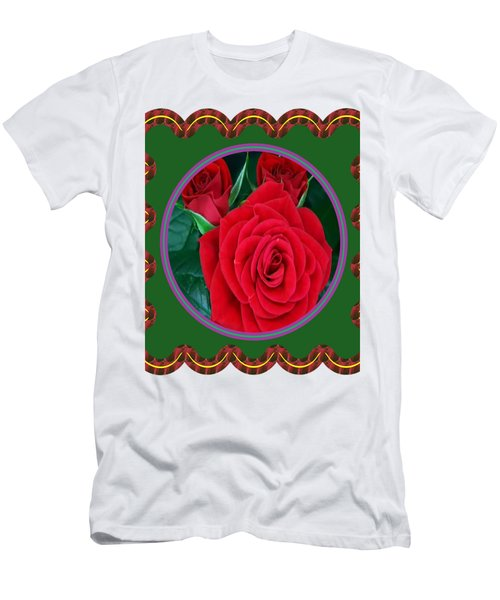 Rose Flower Floral Posters Photography And Graphic Fusion Art Navinjoshi Fineartamerica Pixels Men's T-Shirt (Athletic Fit)