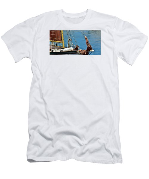 Sail Boat Men's T-Shirt (Athletic Fit)