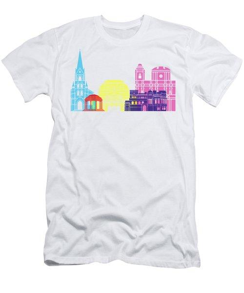 San Jose Skyline Pop Men's T-Shirt (Athletic Fit)