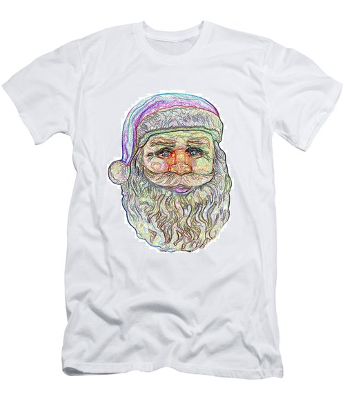 Men's T-Shirt (Slim Fit) featuring the photograph Santa by Ludwig Keck