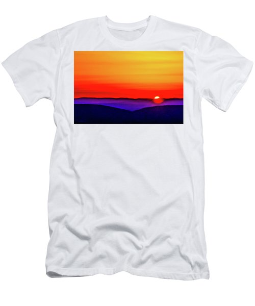 Shenandoah Valley Sunset Men's T-Shirt (Athletic Fit)