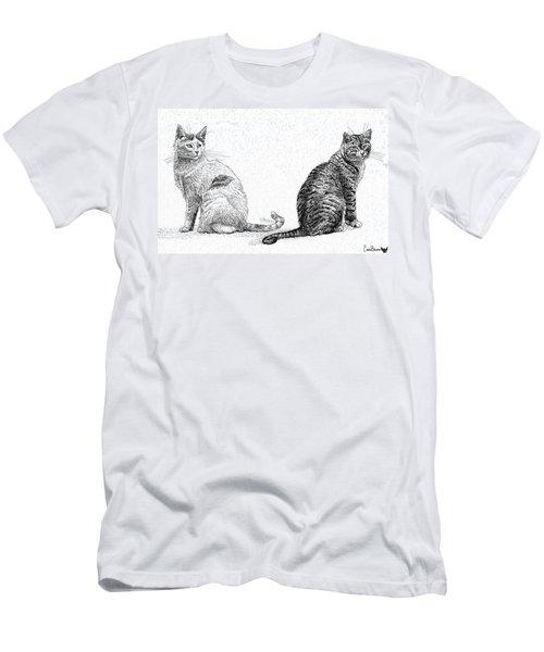 Siblings Men's T-Shirt (Athletic Fit)