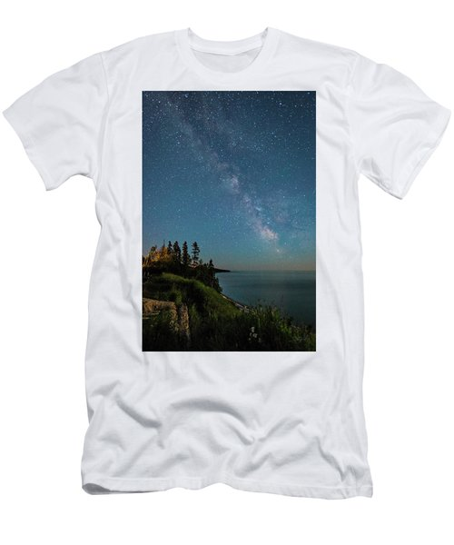 Men's T-Shirt (Athletic Fit) featuring the photograph Sky Light by Doug Gibbons