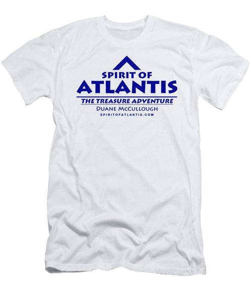 Spirit Of Atlantis Logo Men's T-Shirt (Athletic Fit)