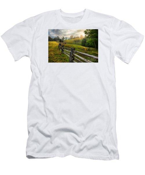 Splash Of Morning Light Ap Men's T-Shirt (Slim Fit) by Dan Carmichael