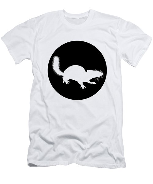 Squirrel Men's T-Shirt (Slim Fit) by Mordax Furittus