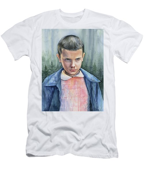 Stranger Things Eleven Portrait Men's T-Shirt (Athletic Fit)