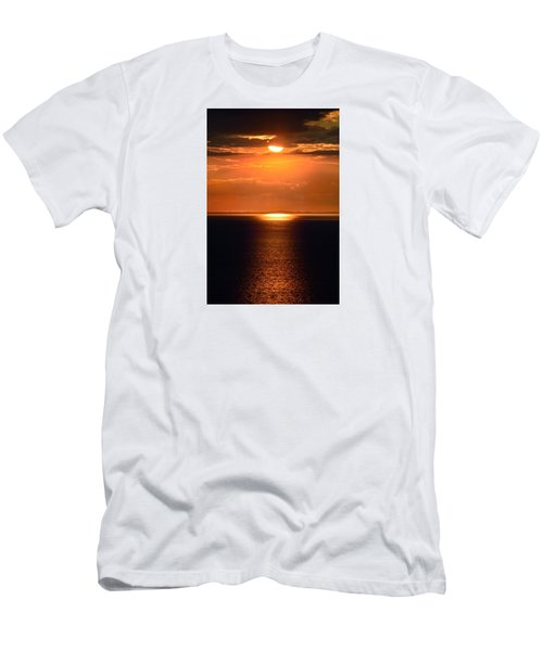 Sun Down Men's T-Shirt (Slim Fit) by Terence Davis