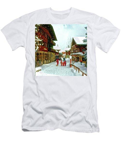 Switzerland Alps Men's T-Shirt (Athletic Fit)