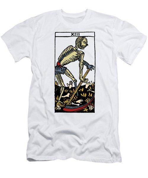 Tarot Card Death Men's T-Shirt (Slim Fit) by Granger