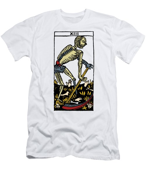 Tarot Card Death Men's T-Shirt (Athletic Fit)