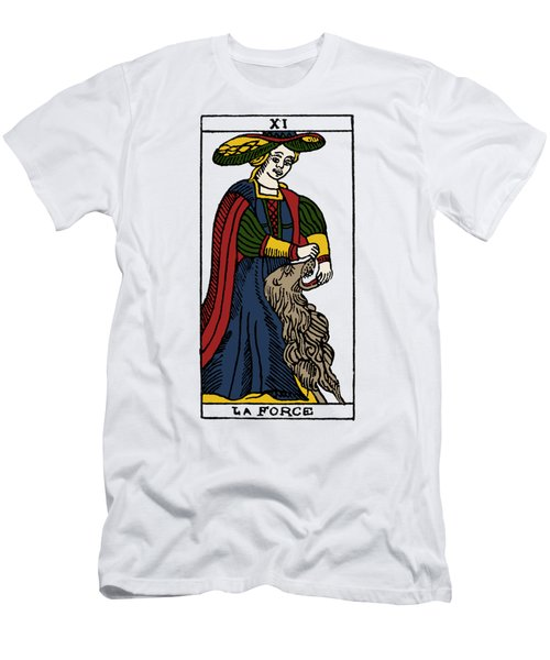 Tarot Card Strength Men's T-Shirt (Athletic Fit)
