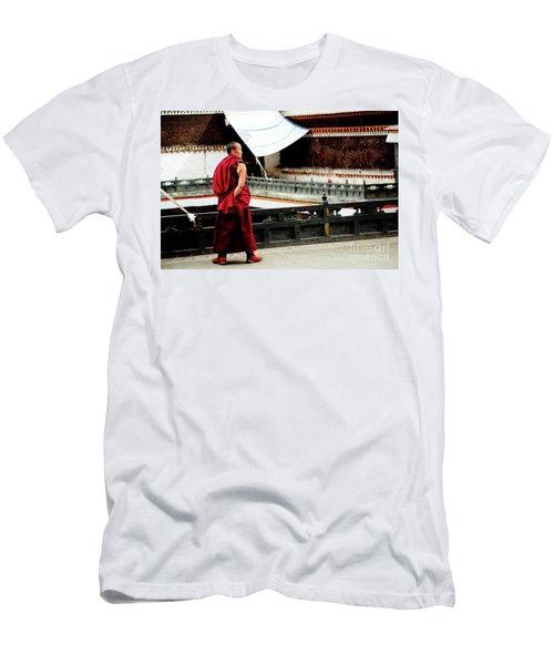 Tashilhunpo Monastery Shigatse Tibet Yantra.lv  Men's T-Shirt (Athletic Fit)