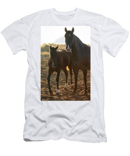 Texas Mare  Men's T-Shirt (Athletic Fit)