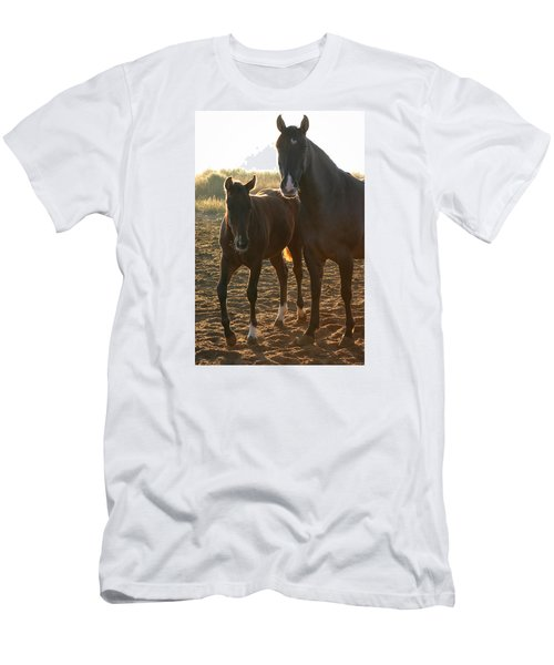 Texas Mare  Men's T-Shirt (Athletic Fit)