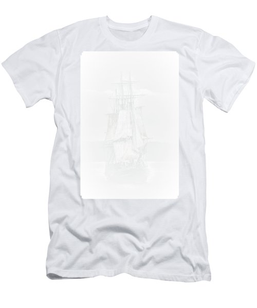 The Ghost Ship Men's T-Shirt (Slim Fit) by David Patterson