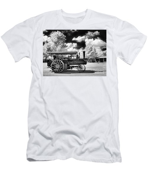 Men's T-Shirt (Slim Fit) featuring the photograph The Old Way Of Farming by Paul W Faust - Impressions of Light