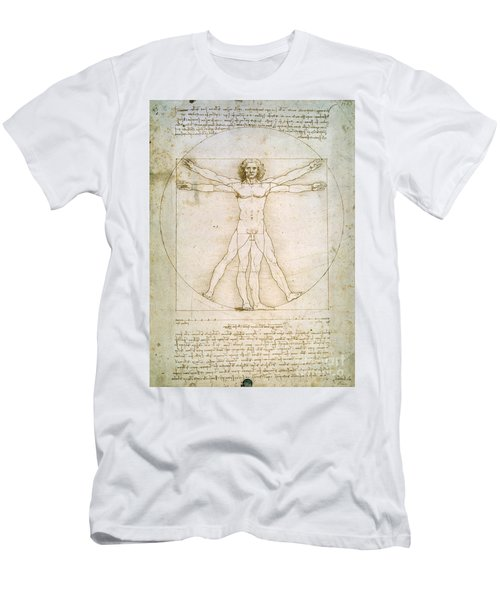 The Proportions Of The Human Figure Men's T-Shirt (Athletic Fit)