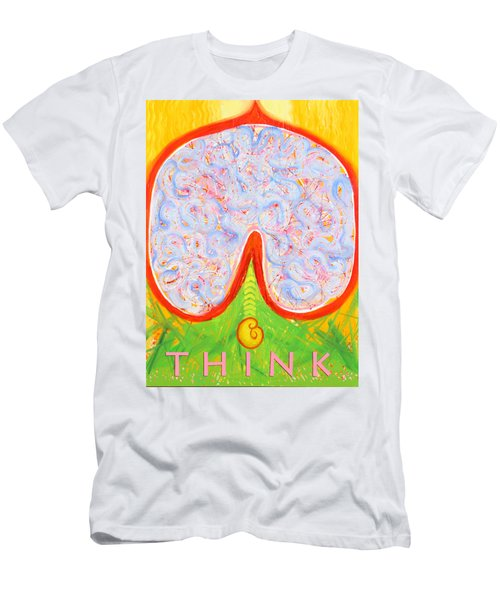 Think Men's T-Shirt (Athletic Fit)