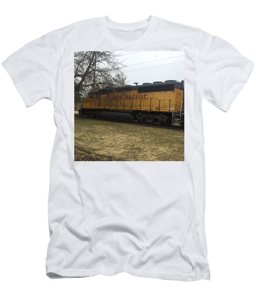 Train At The Ymca Men's T-Shirt (Athletic Fit)