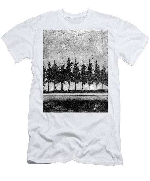 Tree Road Men's T-Shirt (Athletic Fit)