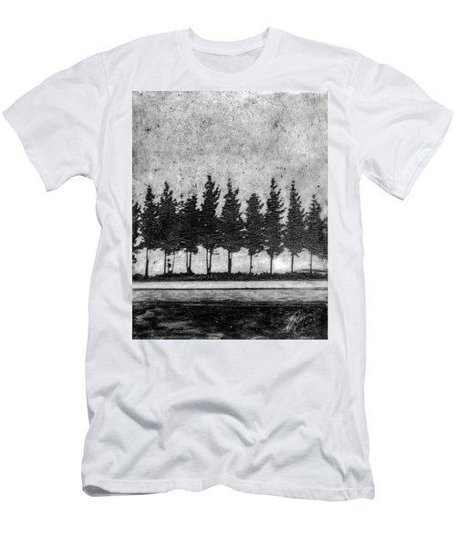 Tree Road Men's T-Shirt (Athletic Fit)
