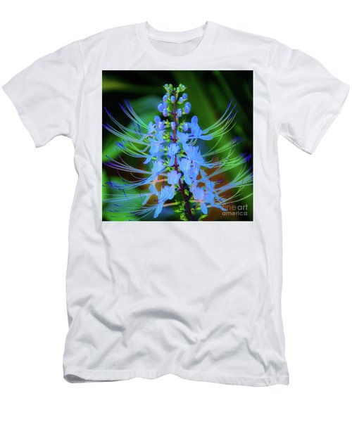 Tropical Plants And Flowers In Hawaii Men's T-Shirt (Athletic Fit)