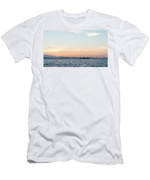 Twilight In Puget Sound Men's T-Shirt (Athletic Fit)