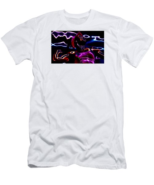 Venus Williams Match Point Men's T-Shirt (Slim Fit) by Brian Reaves