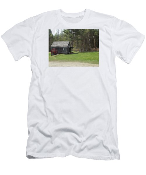 Vermont Grist Mill Men's T-Shirt (Slim Fit) by Catherine Gagne