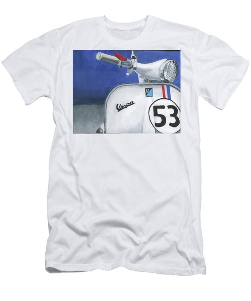 Vespa 53 Men's T-Shirt (Athletic Fit)