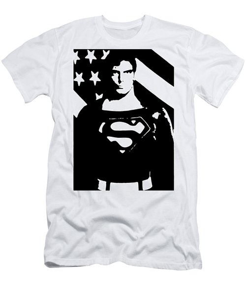 Waiting For Superman Men's T-Shirt (Athletic Fit)