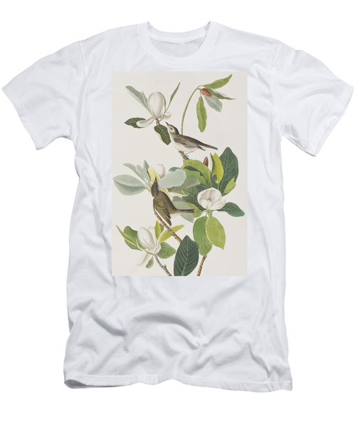 Warbling Flycatcher Men's T-Shirt (Athletic Fit)