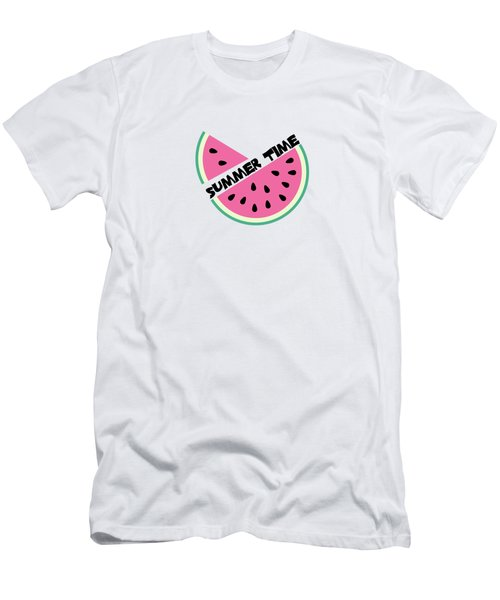 Watermelon Men's T-Shirt (Slim Fit) by Alina Krysko