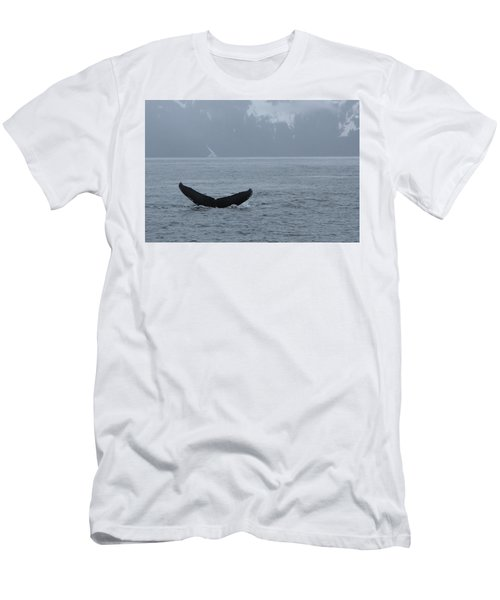 Men's T-Shirt (Athletic Fit) featuring the photograph Whale Fluke by Brandy Little