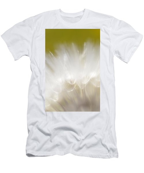 White Blossom 1 Men's T-Shirt (Athletic Fit)