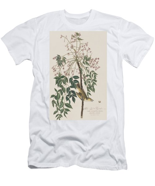 White-eyed Flycatcher Men's T-Shirt (Athletic Fit)
