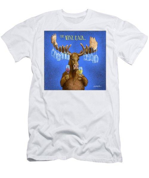 Wine Rack... Men's T-Shirt (Athletic Fit)